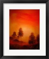 Framed Autumn Landscapes