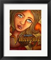 Framed Valentine Girl