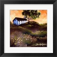 Framed House in The Fields 2