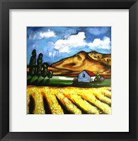 Framed Canola Fields