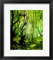 Framed Lady Of The Forest