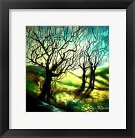 Framed Tree Figures