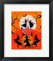 Framed Dancing Witch Spell Party