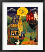 Framed Halloween Trick or Treat