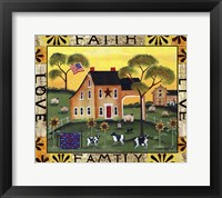Framed Faith Family Live Love Lang