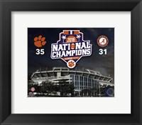 Framed Clemson Tigers 2016 National Champions Stadium