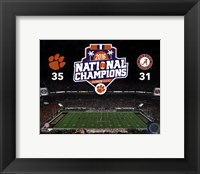 Framed Clemson Tigers 2016 National Champions