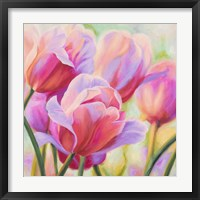 Framed Tulips in Wonderland I