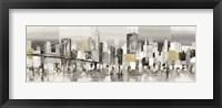 Framed Manhattan & Brooklyn Bridge