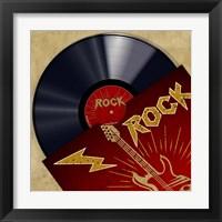 Framed Vinyl Club, Rock