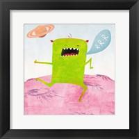 Alien Friend #1 Framed Print