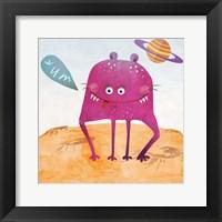 Alien Friend #2 Framed Print