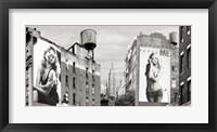 Framed Billboards in Manhattan