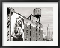 Framed Billboards in Manhattan #1