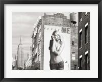 Framed Billboards in Manhattan #2