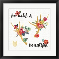 Framed Boho Beauty I