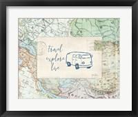Framed Travel Posts II