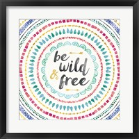 Framed Wild and Free I