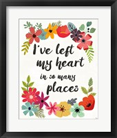 Framed Words and Petals II