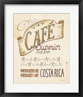 Authentic Coffee VIII Framed Print