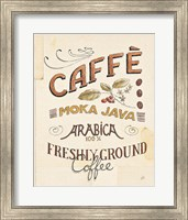 Framed Authentic Coffee VII