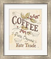 Framed Authentic Coffee VI