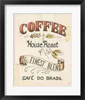 Authentic Coffee IX Framed Print