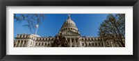 Framed Statue at Mississippi State Capitol, Jackson, Mississippi