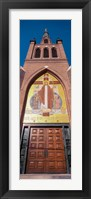 Framed Cathedral of St. Peter the Apostle, Jackson, Mississippi