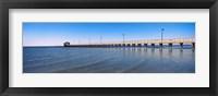 Framed Pier in Biloxi, Mississippi