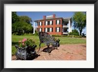 Framed Rosalie' house, 1820, Union Headquarters, Natchez, Mississippi