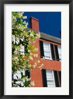 Framed Spring Pilgrimage, 'Rosalie' house, 1820, Natchez, Mississippi
