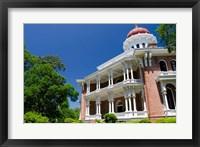 Framed Longwood' house built in Oriental Villa style, 1859, Natchez, Mississippi