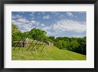 Framed Battlefield bunker, Vicksburg National Military Park, Mississippi