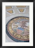 Framed Mississippi,  Illinois Memorial