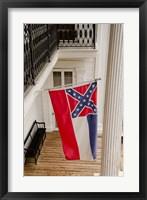 Framed Mississippi Mississippi state flag