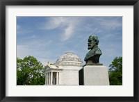 Framed Mississippi, Vicksburg, Bust of Brigadier General John E Smith