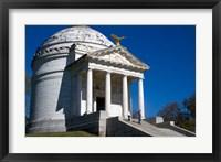 Framed Illinois Memorial, Vicksburg, Mississippi