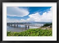 Framed Bridge Over the Mississippi River, Mississippi