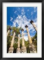 Framed Mississippi, Windsor Ruins, plantation house