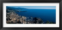 Framed City at the waterfront, Monte Carlo, Monaco