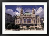 Framed Monte Carlo Casino, Monaco
