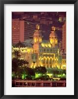 Framed Principality of Monaco, Monte Carlo, Monaco