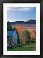 Framed Mt Monadnock, Jaffrey, New Hampshire