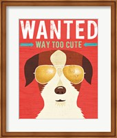 Framed Beach Bums Terrier I Wanted