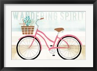 Framed Beach Cruiser Girls I