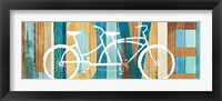 Framed Beachscape Tandem Bicycle Love