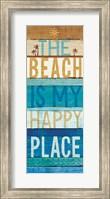 Framed Beachscape Inspiration IV