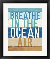Framed Beachscape Inspiration V