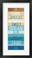 Framed Beachscape Inspiration II